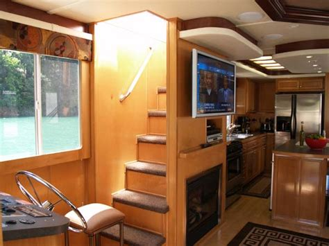 Holiday Home Interiors houseboat interiors