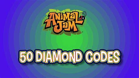 animal jam  diamond codes   working youtube