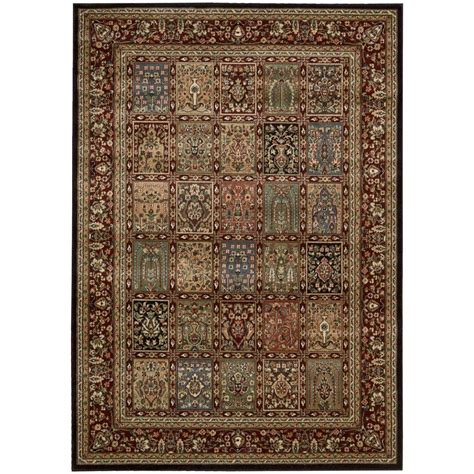 2 x 3 accent rugs nourison persian arts multicolor 2 ft x 3 ft 6 in