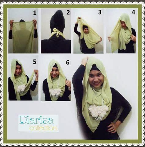 tutorial berhijab tahun 2015 tutorial hijab paris simpel tapi cantik 2015