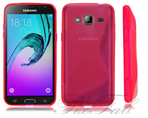 Samsung J3 2016 New Free Tempered for samsung galaxy j3 2016 j320f new gel silicone phone