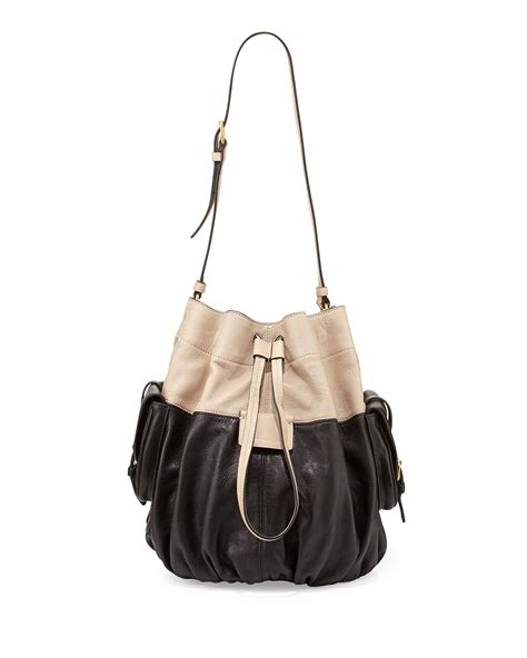 Marc By Marc Aline Leather Handbag by Marc By Marc Gather Drawstring Leather