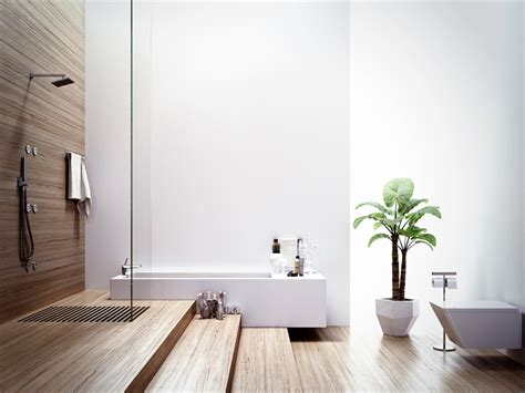 Modern Bathroom In Modern Bathrooms With Spa Like Appeal