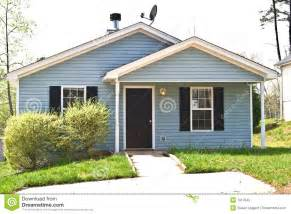Small Homes For Rent Small House For Sale Rent Royalty Free Stock Photo Image