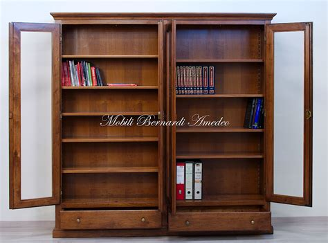 libreria in legno massello librerie in legno massello 14 librerie