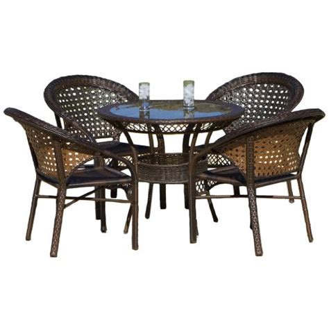 Cheap Wicker Patio Furniture Sets Malibu 5 Wicker Dining Set 187 187 187 Cheap Patio Furniture Sets