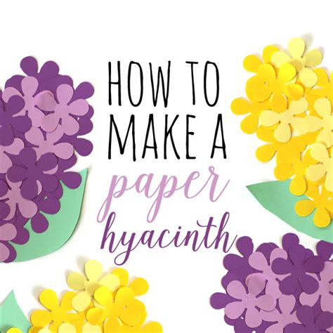 What Do You Need To Make A Paper Mache Volcano - how to make paper hyacinths the favor stylist