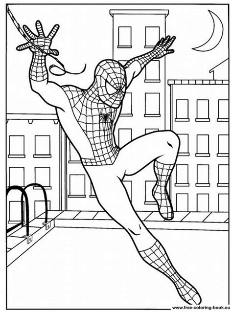 spider man comic book coloring pages coloring pages