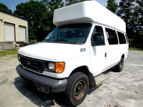 buy car manuals 2007 ford e150 regenerative braking find used 2007 ford e series van e 350 super duty extended w wheelchair lift no reserve in