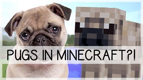 pugs in minecraft pugs in minecraft
