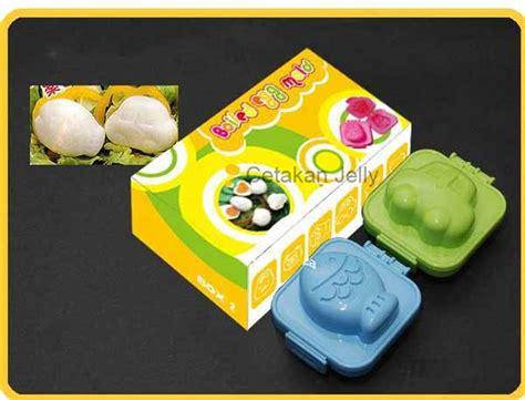 Cetakan Telur Rebus Bentuk Rabbit Atau Fish Car cetakan telur ikan mobil cetakan jelly cetakan jelly