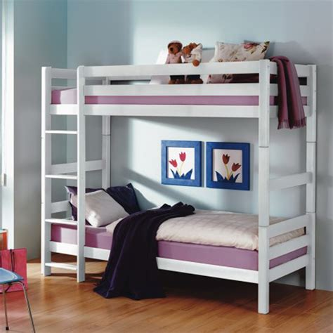 low profile bunk beds bedroom varnished teakwood loft beds with ladder mixed