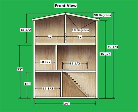 wooden doll house plans free barbie house instructions