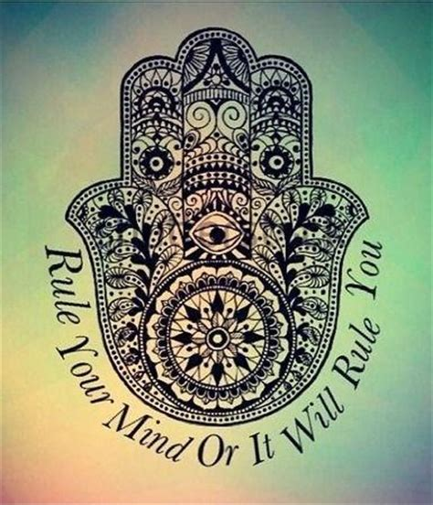 tattoo quotes positive thinking rule your mind or it will rule you picture quotes