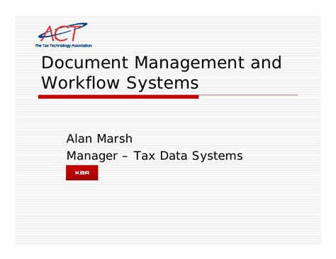 workflow and document management systems mon am 1130 document management and workflow systems