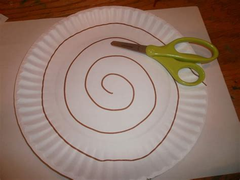 Paper Plate Snake Craft - snake craft for