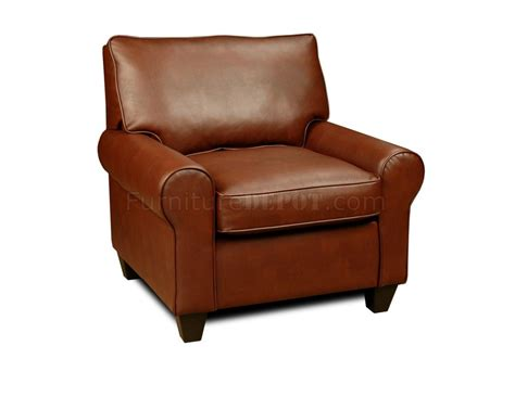 Bonded Leather Chair by Brown Bonded Leather Modern Chair