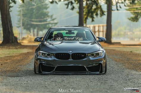 bmw m4 stanced stanced bmw m4 convertible f83 front
