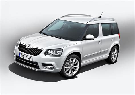new skoda new skoda yeti officially revealed