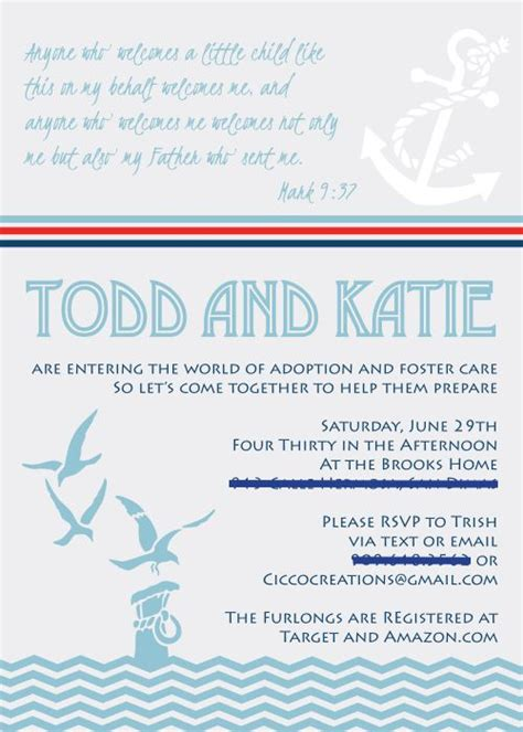 care baby shower invitations 14 best images about foster care announcements shower
