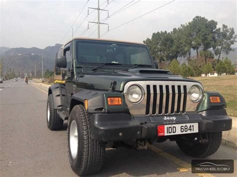Open Jeep For Sale In Pakistan Jeep Wrangler 2002 For Sale In Islamabad Pakwheels
