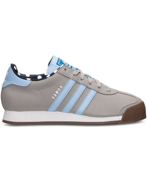 Sneakersneaker Wedgeswedgesheelskets 11 lyst adidas s samoa casual sneakers from finish line in gray