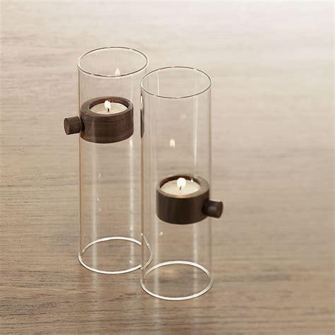 glas teelichthalter teelichthalter holz glas magnetisch philippi lift