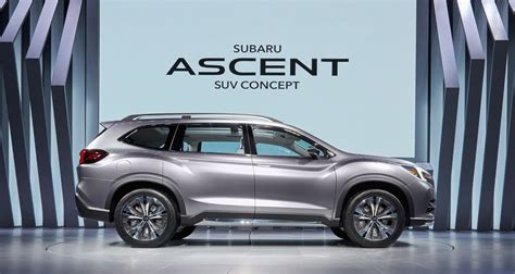 subaru create mahoosive 8 seat suv for trumps america