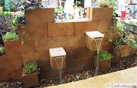 Diy Yard Decoration Ideas by Original Cinder Block Ideas For Diy Yard Decorations
