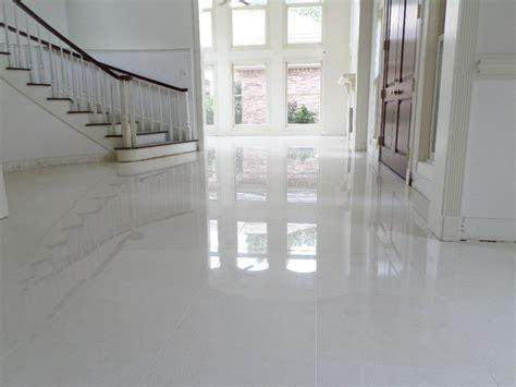 polished porcelain  tile    grout