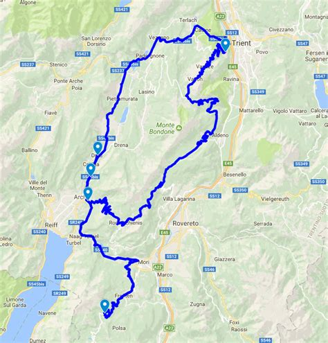 Motorradfahren Dolomiten by Bondonerunde Alpen Motorrad