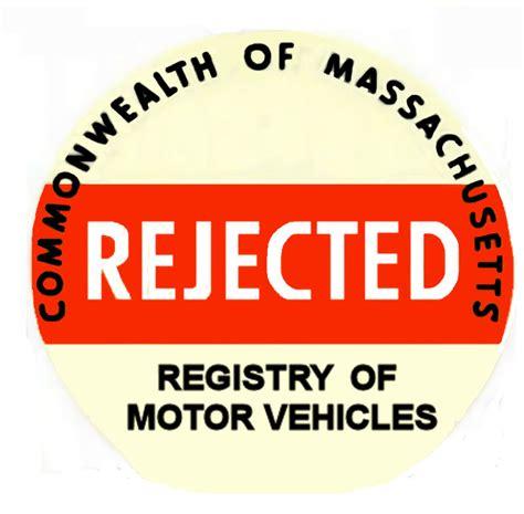 Rejection Sticker Ma