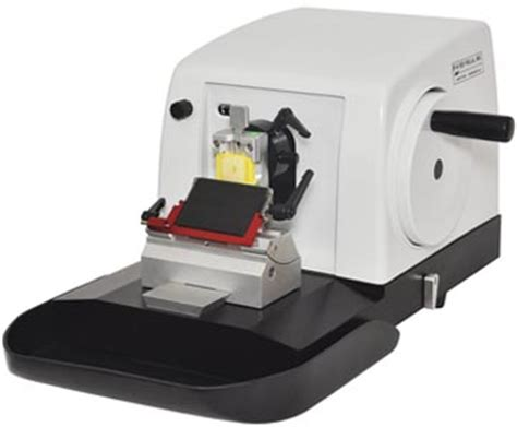 microtomy and paraffin section preparation hmt 2258 manual rotary microtome from ted pella get