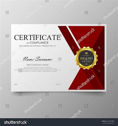 certificate design cdr format free download certificate template lovely diploma certificate template