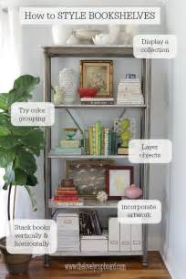 25 best ideas about bookshelf styling on book shelf decorating ideas shelving