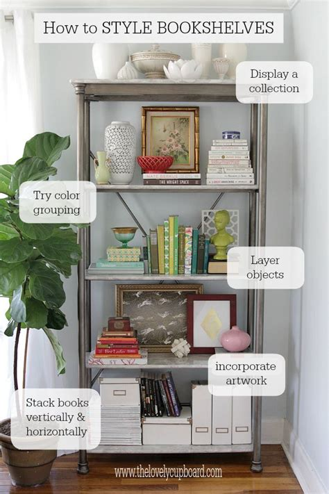 decorating a bookshelf ora life is too short to wear boring clothes