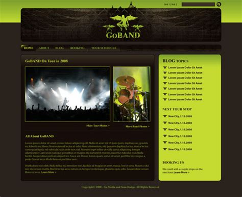 layout view drupal create a killer band site with drupal a 6 part tutorial