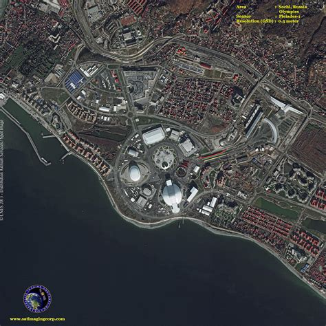 Pci Geomatica 2014 Sle Files Processing Satellite Image Aerial pleiades 1a satellite image sochi winter olympics satellite imaging corp