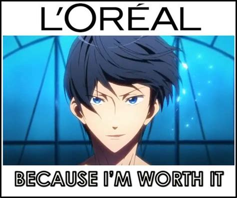 Free Meme - anime meme free iwatobi swim club anime days pinterest