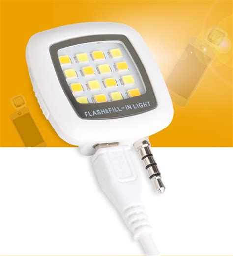 Lu Led Flash Light Mobil Phone Mobile Selfie Led Flash Light 11street Malaysia