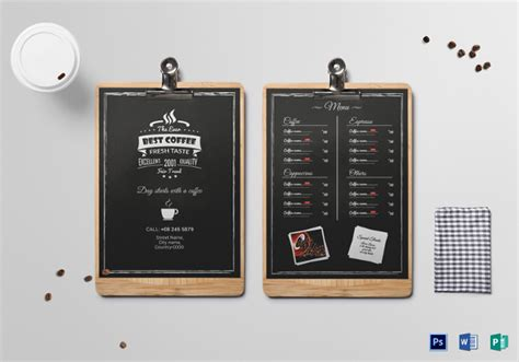 33 Menu Board Templates Free Sle Exle Format Download Free Premium Templates Menu Board Template