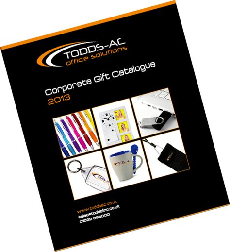 gift catalogues uk corporate gifts catalogue todds office furniture