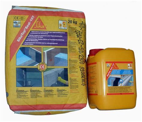 Sika Top 107 Seal Set 25 Kg 20kg Cairan 5kg sikatop 107 seal dinamika utama solusi bangunan supply material dan applikator produk sika