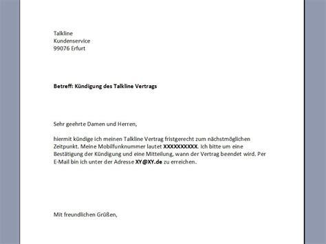 Musterbrief Kündigung Handyvertrag Vodafone Vertragsk 252 Ndigung Vorlage K 252 Ndigung Vorlage Fwptc