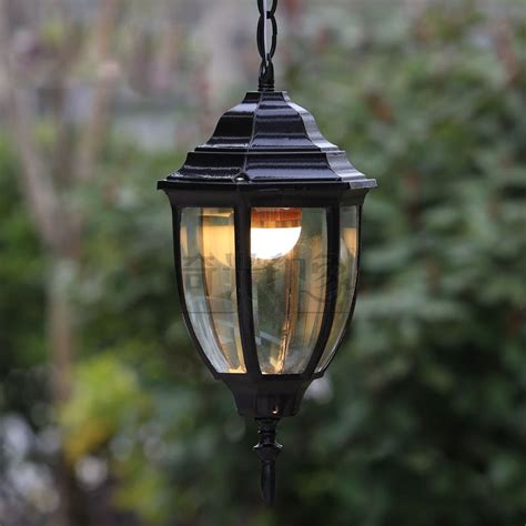 vintage outdoor pendant lights courtyard corridor hanging