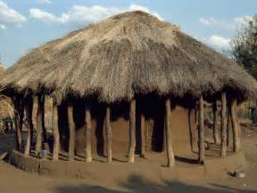 afrika haus typical house in zambia africa