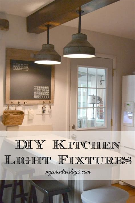 cottage style kitchen lighting diy kitchen light fixtures from vintage milk strainers and