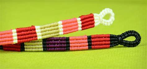 Make A With Stripes Jewelry by How To Make Colored Stripe Bracelet 171 Jewelry Wonderhowto