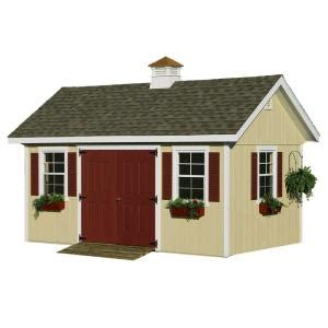 homeplace structures 10 ft x 20 ft studio garden