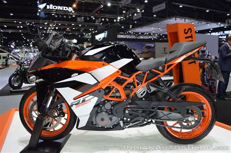 Ktm Auto Expo by 2017 Ktm Rc 390 Left Side At 2017 Thai Motor Expo Indian